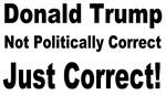 Donald Trump Correct