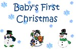 Snowman Baby's First Christmas