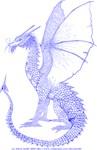 Blue Watcher Dragon