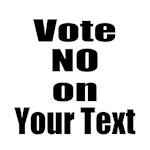 Customizable Vote No