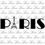 Paris Eiffel Tower Love