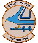 Patrol Squadron VP 9 Golden Eagles Patron Nine US