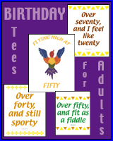 ADULT MILESTONE BIRTHDAY T-SHIRT