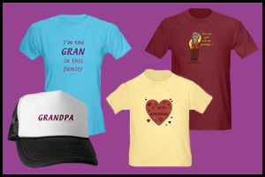 GRANDPARENTS DAY T-SHIRTS & GIFTS