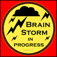 BRAINSTORM T-SHIRTS AND GIFTS
