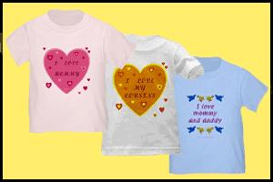 I LOVE MY FAMILY TODDLER & BABY T-SHIRTS