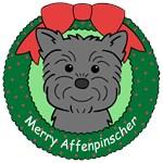 Affenpinscher Christmas Ornaments