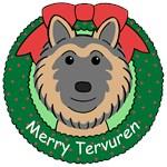 Belgian Tervuren Christmas Ornaments