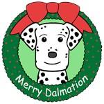Dalmation Christmas Ornaments
