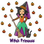 Witch Princess (Black Hair)