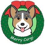 Pembroke Welsh Corgi Christmas Ornaments