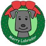 Labrador Retriever Christmas Ornaments