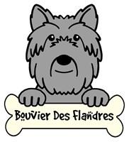 Personalized Bouvier Des Flandres
