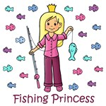 Fishing Princess (Blonde Hair)