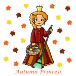 Autumn Princess (Red Hair)