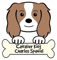 Personalized Cavalier King Charles Spaniel