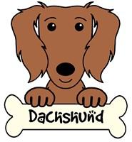 Personalized Dachshund (Long Hair)