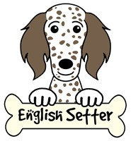 Personalized English Setter