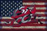 USA Flag Soccer