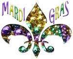 Mardi Gras Fleur