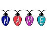 Christmas Lights Names