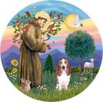Saint Francis & Basset #3