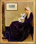 WHISTLER'S MOTHER<br>& Fawn French Bulldog