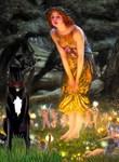 MIDSUMMER'S EVE<br>& Black Great Dane