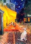 TERRACE CAFE<br>Italian Greyhound