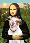 MONA LISA<br> & Pit Bull