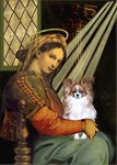 MADONNA OF THE CHAIR<br>& Fawn Papillon