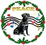 CHRISTMAS MUSIC 1MC<br>& Black Labrador