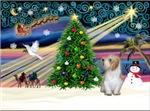 CHRISTMAS MAGIC<br>& Petit Basset