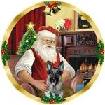 SANTA AT HOME<br>& German Shepherd