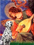 MANDOLIN ANGEL<br>&Dalmatian #1