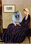 WHISTLER'S MOTHER<br>& Her Kesshond