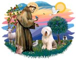 St. Francis #2<br>& Old English Sheepdog (#6)