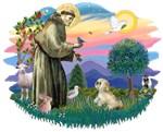 St. Francis #2 &<br> Lhasa Apso (R)