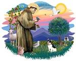 St. Francis #2 & Rat Terrier