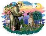 St. Francis 2 &<br>Great Dane (natural)