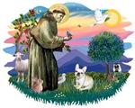 St. Francis #2 &<br> French Bulldog (fawn)