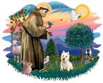 St. Francis #2 &<br>West Highland Terrier