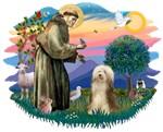 St. Francis #2 &<br>Bearded Collie