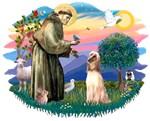 St. Francis #2 &<br> Afghan Hound