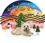 CHRISTMAS MUSIC #2<br>Cairn Terrier (#4)
