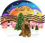 CHRISTMAS MUSIC #2 #2Brown Cocker Spaniel