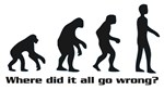 Evolution - where did it all go wrong?