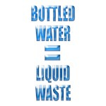 Environmental messages on refillable drink bottles