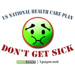 National Health Plan T-shirts, Stickers