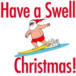 Surfing Santa T-shirts & Surf Gifts